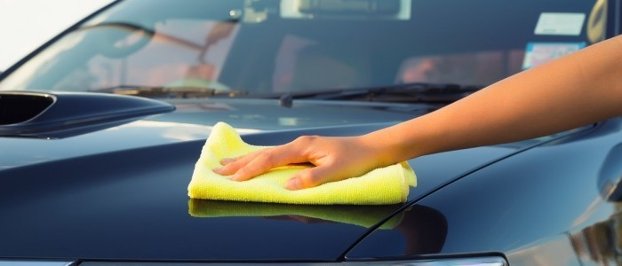car waxing