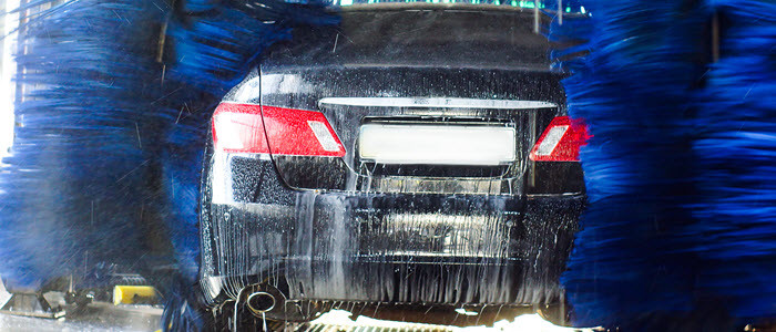automatic car washes